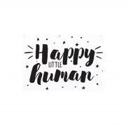 Happy little human