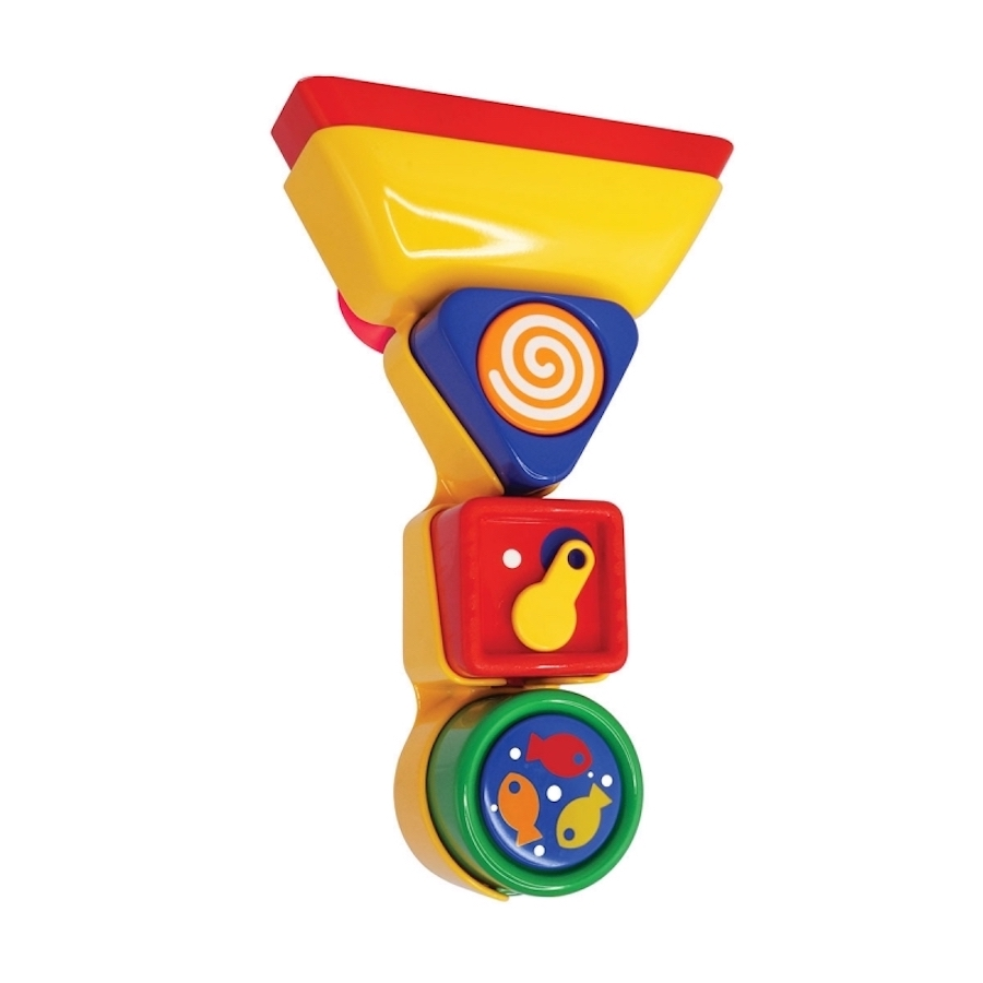 Tolo Toys Bathtime Pour and Spin Shape Sorter | The Kiddie Company